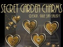 Secret Garden Charms Icons