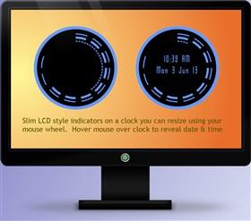 Slim Clock 1.1