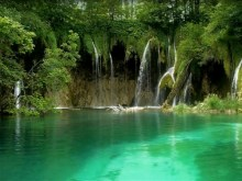 plitvice waterfalls and lake
