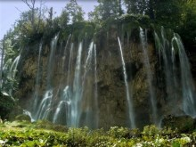 plitvice mountain falls