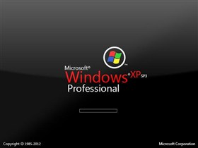 Microsoft Windows XP SP3 Professional Glass 2