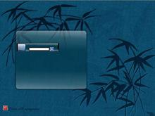 Blue Bamboo