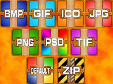 Color Quadrant file formats_images