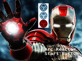 Arc Reactor Start Button