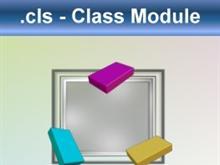 Visual Basic:  Class Module (*.cls)