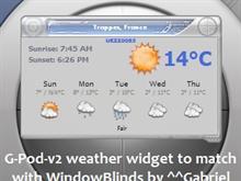 G-Pod-v2 Weather