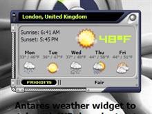 Antares Weather Widget