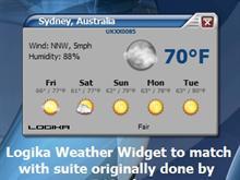 Logika Weather Widget