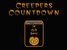 Creepers Halloween Countdown