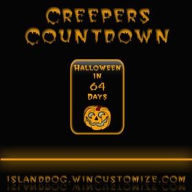Creepers Halloween Countdown