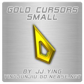 Gold Cursors Small