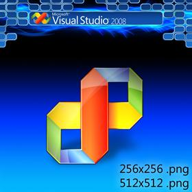 Visual Studio 2008 Icon