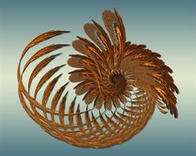 Wheat Basket Spiral