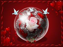 Valentine Globe 2009