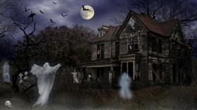 Halloween Haunted Mortuary