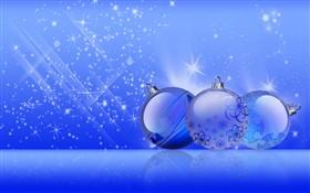 Christmas Blue Shine