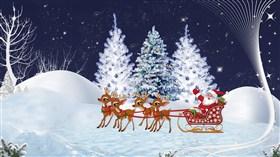 Christmas Santa Scene 2013