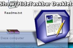 Show/Hide taskbar