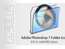 Adobe Photoshop 7 Folder Icon