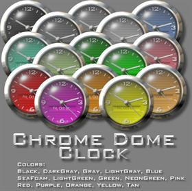 ChromeDome Clock V3.0