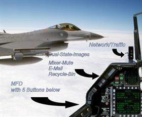 F16-C Cockpit-Panel