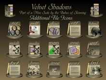 Velvet Shadows File Icons
