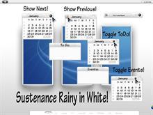 Sustenance Rainy in White