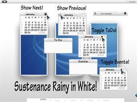 Sustenance Rainy in White