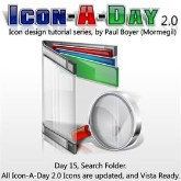 Icon-A-Day 2.0, Day 15, Search Folder