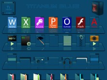 Titanium Blue Iconpackager