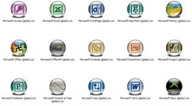 MS Apps XP Icons (Globe)