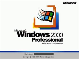 Windows 2000 English
