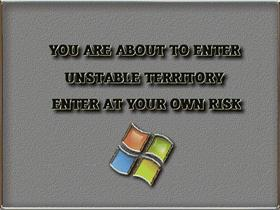 Unstable Territory