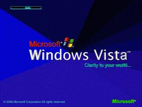 Windows Vista Blue