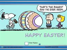 Snoopy Happy Easter