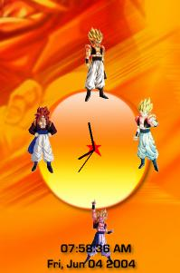 DragonBall Clock