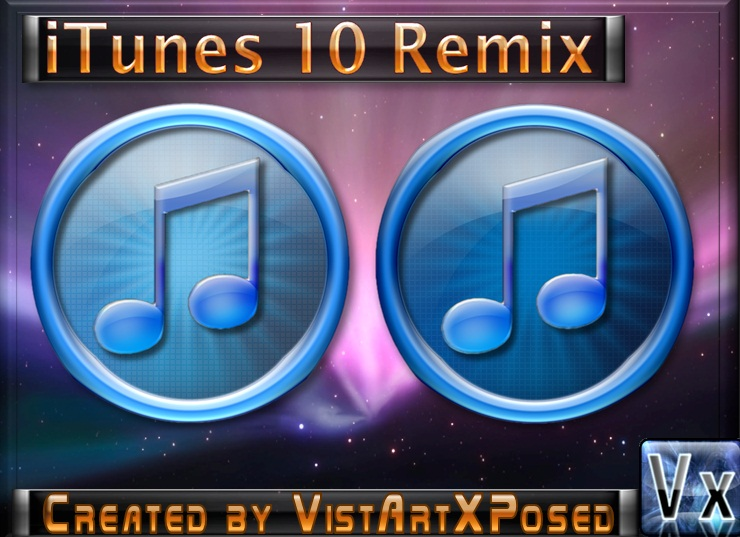 iTunes 10 Remix