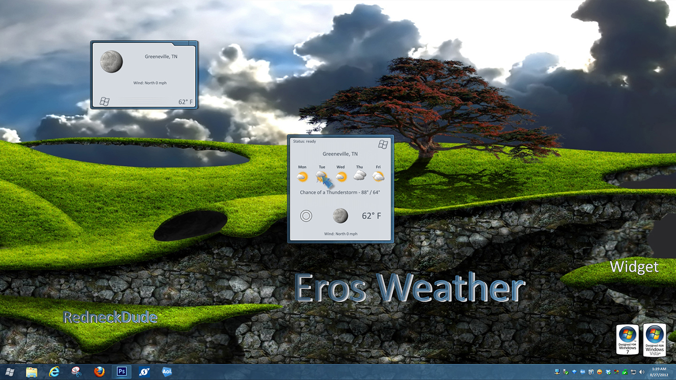 Eros Weather Widget