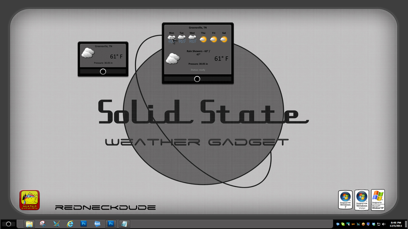 Solid State Weather Gadget