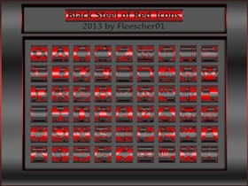 Black Steel of Red_Icons