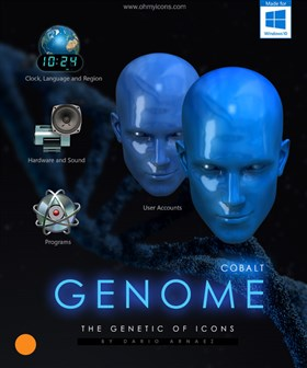 GENOME - Icons for Windows10