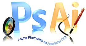 Photoshop and Illustrator CS3 3D