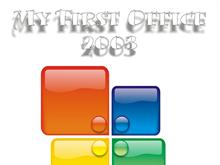 My First Office 2003