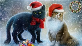 Winter_Christmas_Cats
