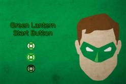 Green Lantern Start Button